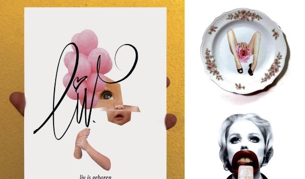 <p>Marleen houdt ervan om kunst te maken die shockeert en tot de verbeelding spreekt.</p>