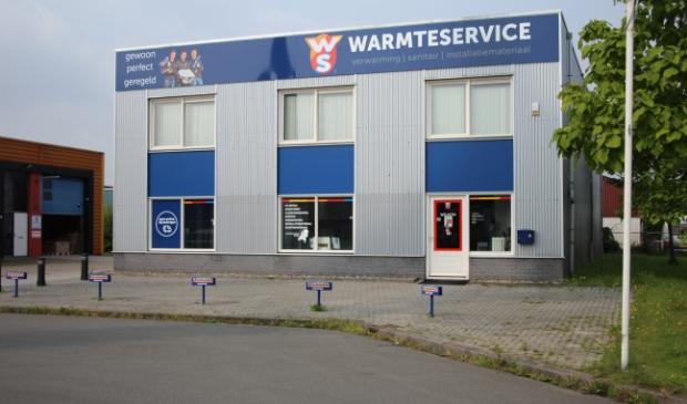 Huidig pand in Leeuwarden van Warmteservice