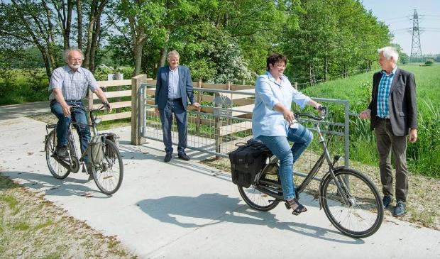 Fiets- en wandelprovincie Friesland is alweer een mooie route van anderhalve kilometer rijker.