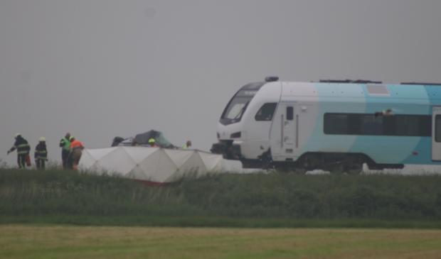 De twee slachtoffers van het treinongeluk in Boazum zijn een echtpaar uit Schagen, zo maakt politie Friesland bekend.