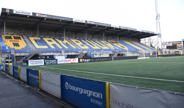 <p>De noordzijde van het stadion van Cambuur.</p>