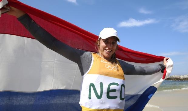 <p>Marit Bouwmeester behaalde op de Olympische Spelen in Rio nog goud, dit keer won ze een bronzen medaille. Foto&#39;s: Dijksmedia</p>