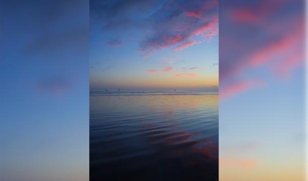 Nick fotografeert graag aan de Friese Waddenkust om dit soort prachtige luchten vast te leggen.