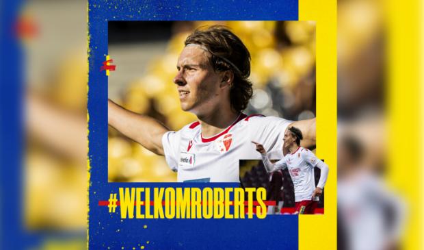 Roberts Uldrikis is de nieuwe spits van SC Cambuur.
