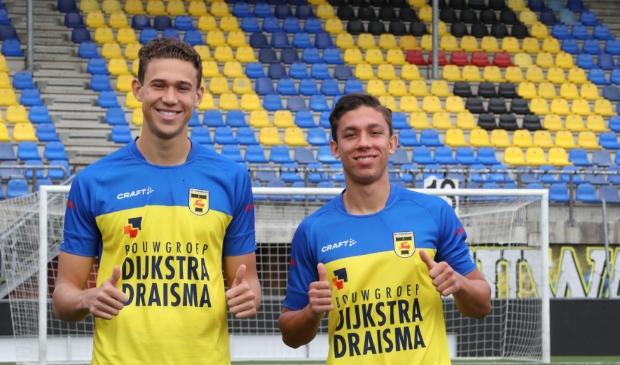 Maxim Gullit en Filip Krastev zijn de nieuwe aanwinsten voor SC Cambuur.