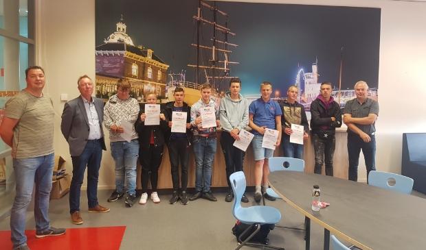 <p>Eerste certificaten veiligheid voor LeerWerkTraject</p>