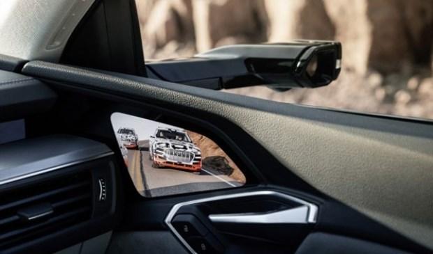 De camera's van de Audi E-tron.