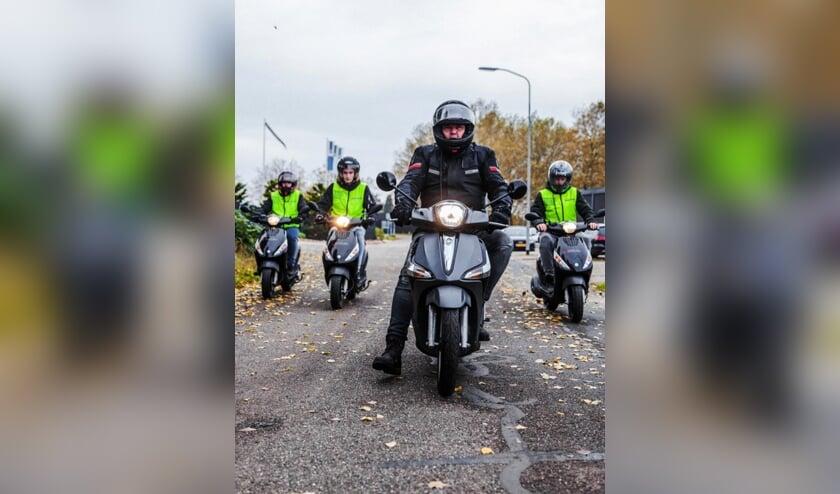 Marcel Nieuwland begon met motorrijlessen nadat hij van de Veiligheidsregio begreep dat hem geen strobreed in de weg wordt gelegd.