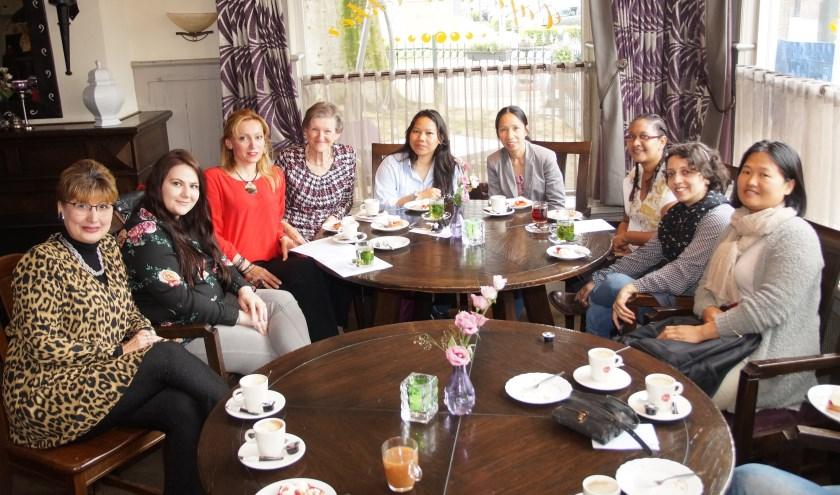De deelnemers aan de Taalklas van dit jaar (Foto, Cor Delissen)