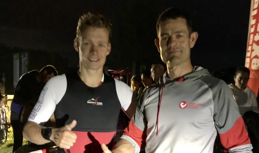 Bart van Linder en Addy van der Vleuten deden mee aan de Austria Extreme Triathlon, een heldentocht vol ontberingen.