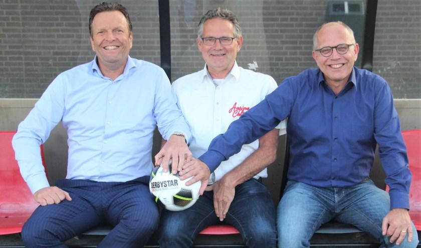 V.l.n.r. Jan Pieter Been, Ad van Kollenburg en Kees Hertogs.