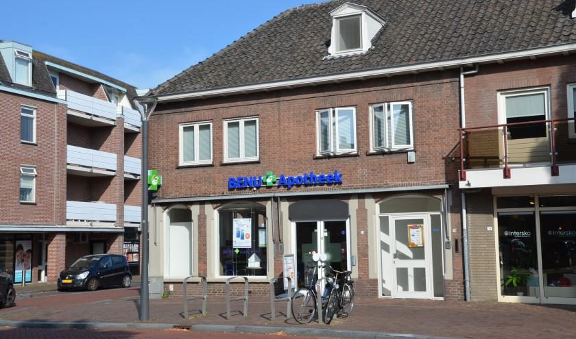 De apotheek aan de Hoofdstraat wordt verplaatst naar het pand aan Zonnewende 131