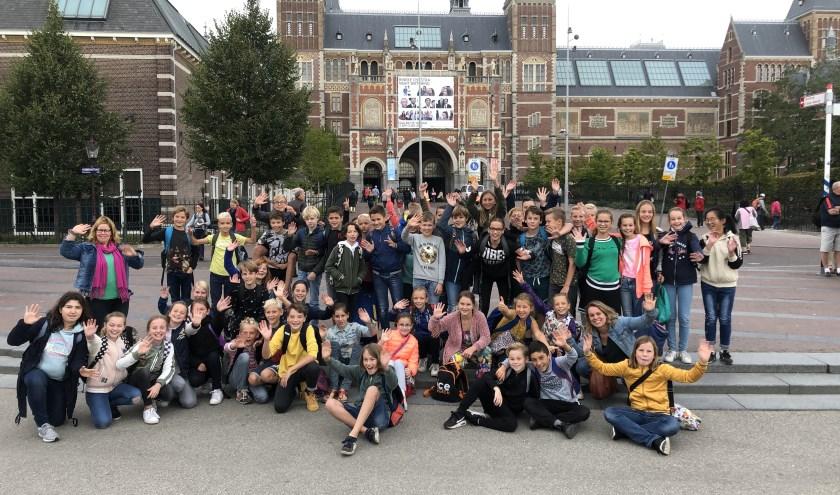 De leerlingen van groep 8 waren afgelopen week uitgenodigd voor een bezoek aan het Rijksmuseum.Een unieke excursie.