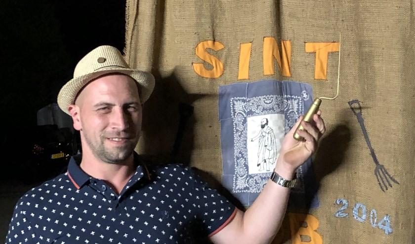 Rob van Loosdregt mag zich een jaar koning noemen van het Gilde Sint Job.