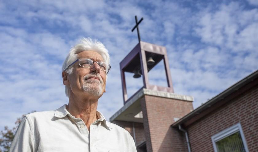 Ds. Martin Kroon neemt afscheid van protestantse gemeente. Foto: Bas van den Biggelaar