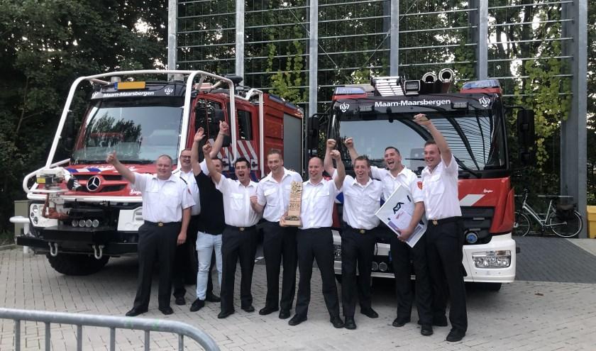 De Bestse brandweermannen deden goede zaken afgelopen zaterdag en werden landskampioen.