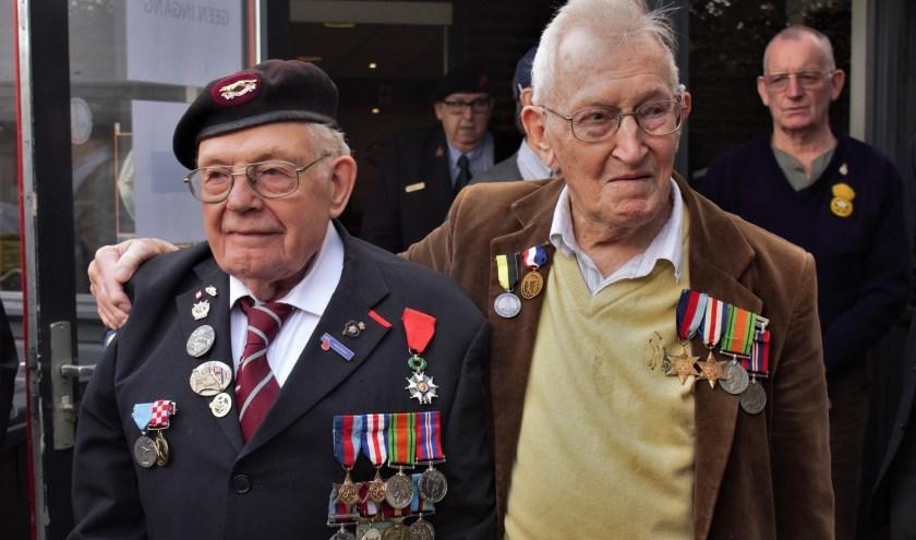 Bevrijders van 's-Hertogenbosch werden dit weekend in het zonnetje gezet tijdens de feestelijkheden rondom de herdenking van 75 jaar vrijheid.Foto: Lisette Broes-Croonen