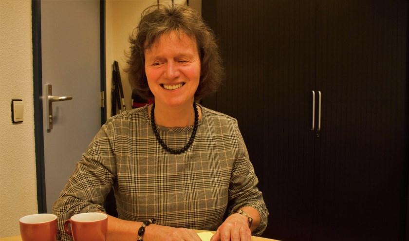 """Monique Meulen: """"Het zelf lezen van de menukaart is onderdeel van de pret van een avondje uitgaan."""" Foto: Lisette Broess-Croonen"""