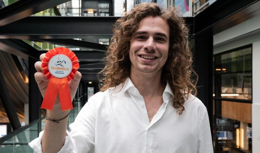 Zanger Lucas Hamming is ambassadeur van de Clubheld van het Jaar-verkiezing.