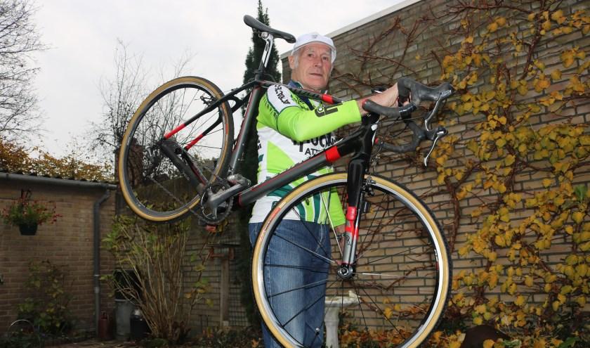 Lambert van de Wiel is er klaar voor. Eind november gaat hij weer proberen om de wereldtitel te pakken in het veldrijden.