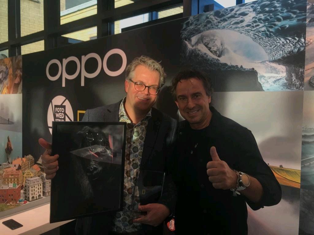 Werner met jurylid Marco Borsato.  © bosscheomroep.nl