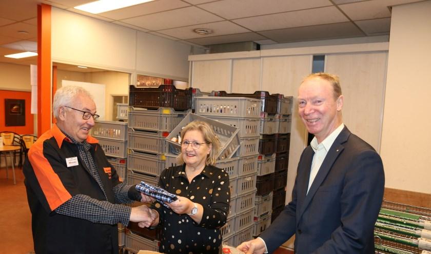 Op de foto (vlnr): Henny van der Heijden, Barry Haen en Jan de Rond. Foto: Jan de Rond