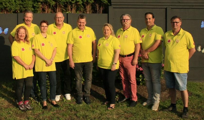 Een deel van de nieuwe commissie van stichting Jeroen Bosch Dweilfestival