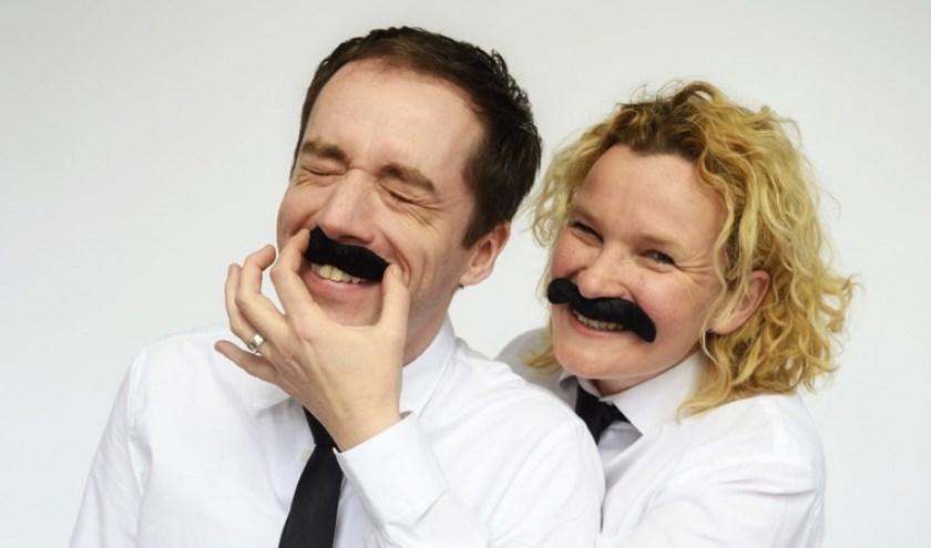 Eelco Smits en Minou Bosua. Foto: Karin Jonkers