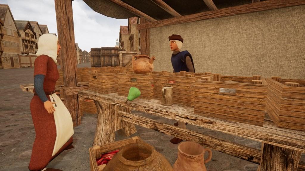 Een fragment uit de VR-game over Bosch erfgoed. Beeld: Sint Lucas/ Erfgoed 's-Hertogenbosch  © bosscheomroep.nl
