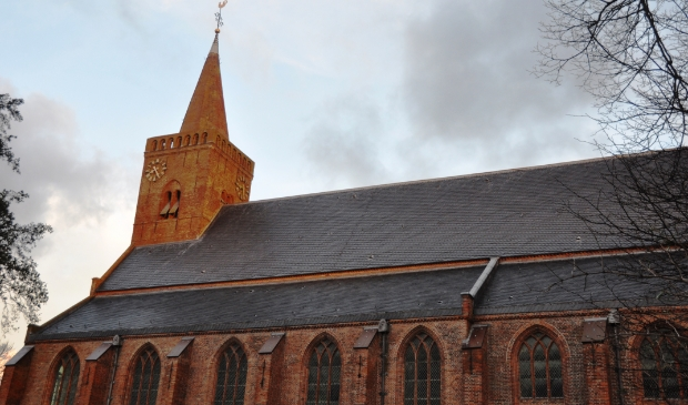 De Burghtkerk in Den Burg.