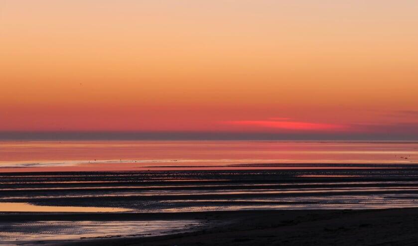 De Volharding bij De Cocksdorp bij zonsopgang. (Foto Marina Dijs)