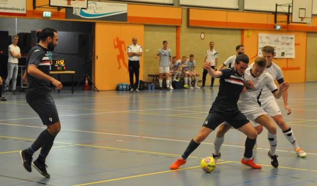 Texel een week geleden thuis in Ons Genoegen tegen ZVV Eindhoven.