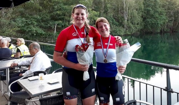 Imke Brommer en Larissa Klaassen zijn Nederlands kampioen.
