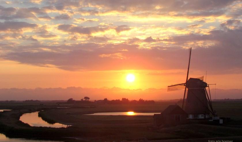 """Aris Bremer: """"Volop zomer, ook in polder het Noorden."""""""
