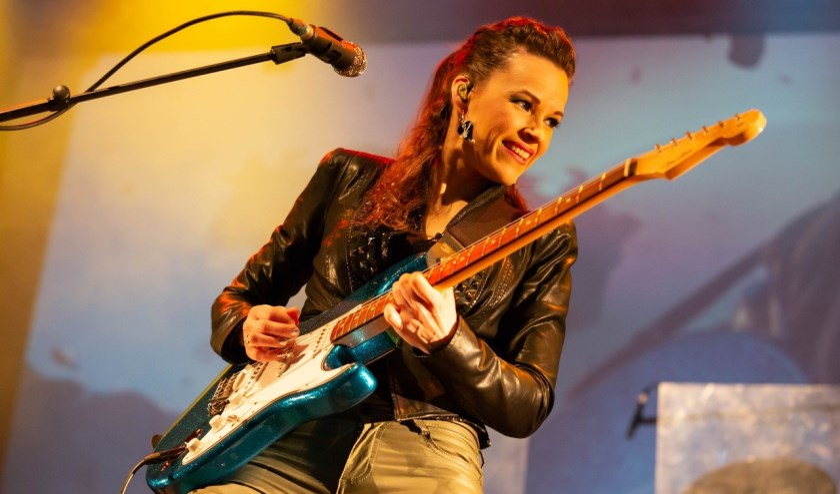 Erja Lyytinen uit Finland, één van de artiesten op Texel Blues.