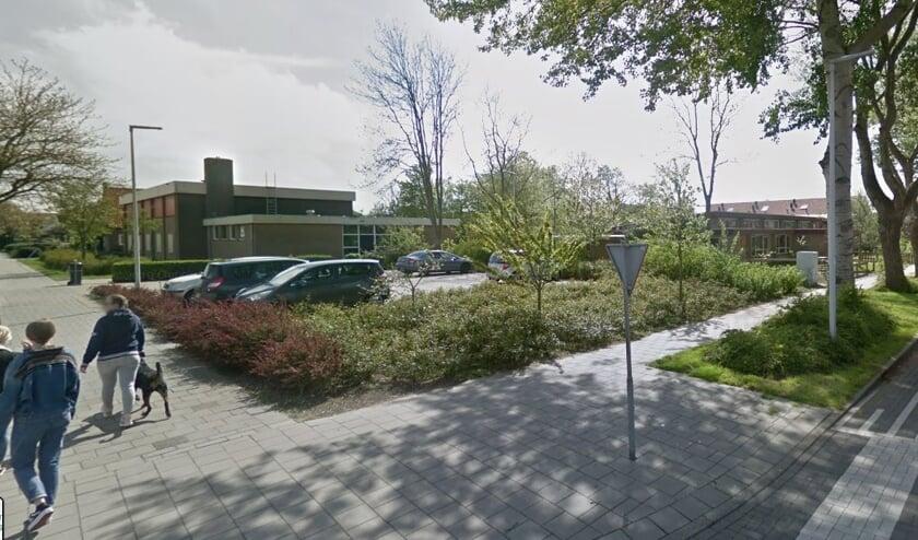 De hoek Beatrixlaan/Gasthuisstraat in Den Burg.