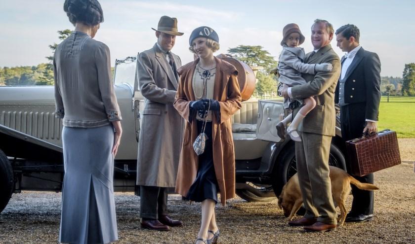 Het kostuumdrama Downton Abbey.
