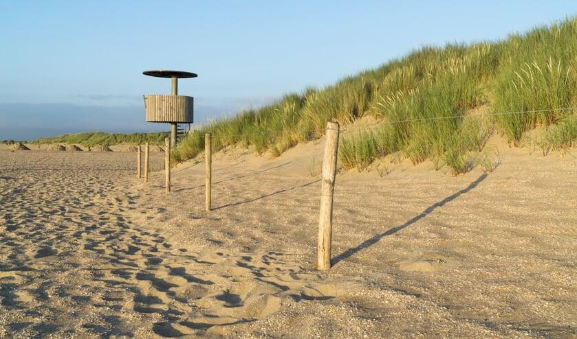 geniet van de glooiende zandduinen tijdens een ochtendwandeling