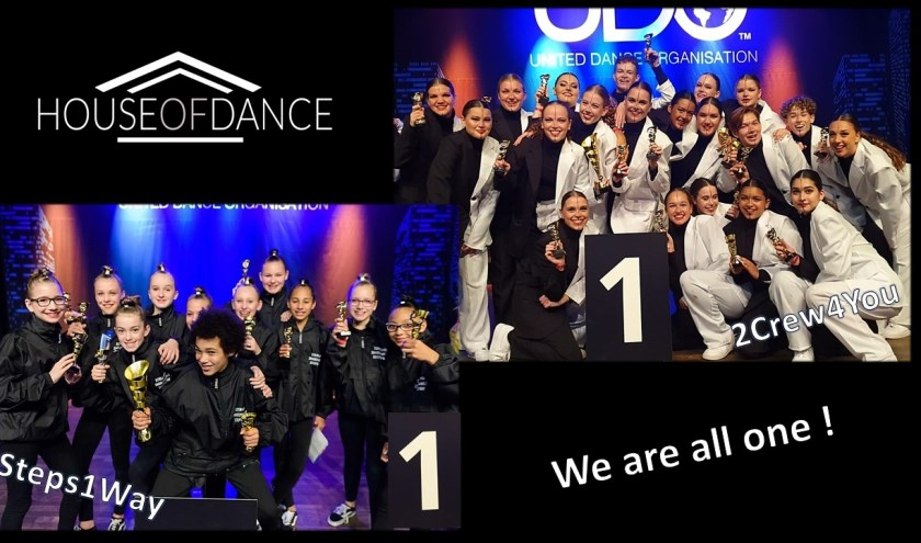 Knappe prestaties bij House of Dance.