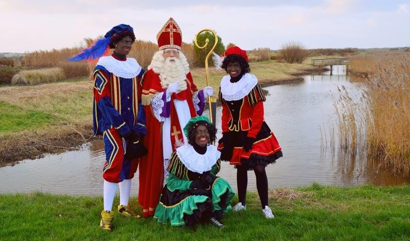 De Goede doelen Sint tijdens een verkenning op Texel.