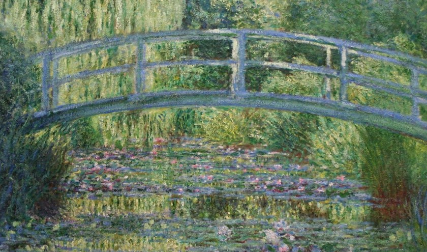 De waterlelies van Monet