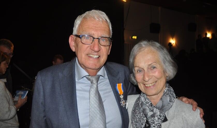 Jan Beijert met zijn vrouw Hetty.
