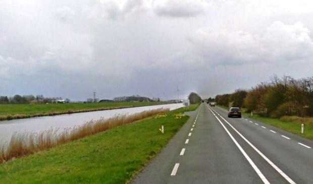 De N9 tussen Den Helder en Alkmaar.