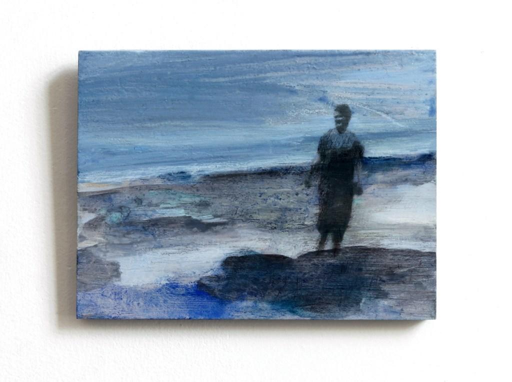 Marieke Peters (schilderij op hout) in Galerie Posthuys  © Mediabureau Langeveld & De Rooy