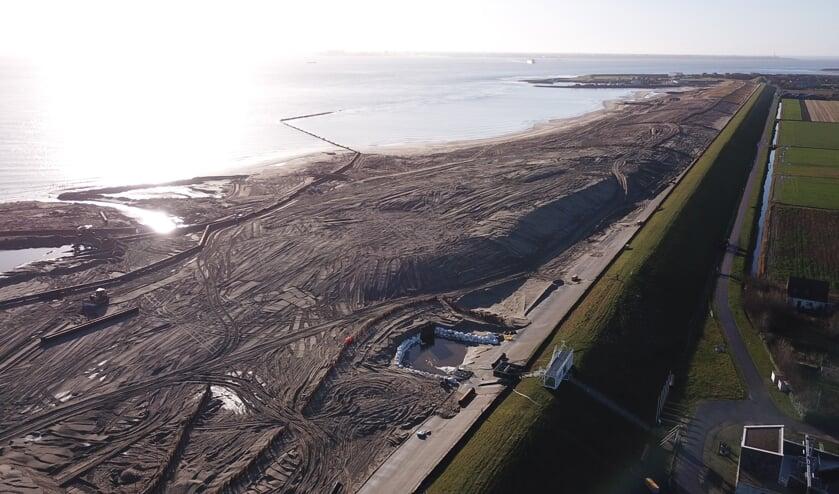HHNK en SEA werken samen aan een kunstwerk dat herinnert aan de dijkversterking.