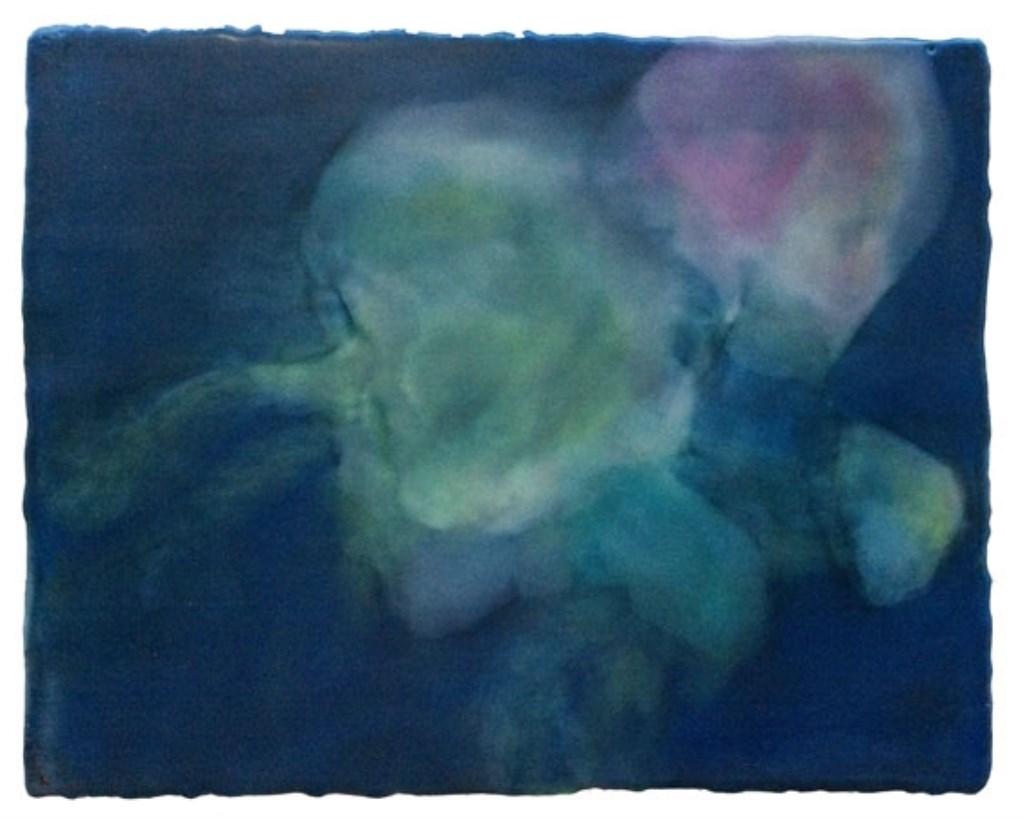 Marianne Wijermans, encaustiek (Haring en andere zeewezens in Galerie Posthuys)  © Mediabureau Langeveld & De Rooy