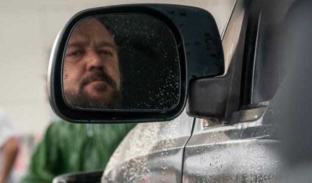 <p>Russell Crowe speelt een gevaarlijke psychopaat in Unhinged.</p>