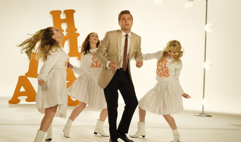 Leonardo Di Caprio in Once upon a time in Hollywood.