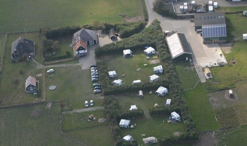 Campings te over, zoals hier boerencamping De Hal nabij Den Burg.