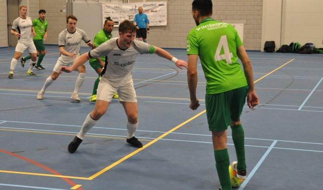 Texel Futsal (in het wit).